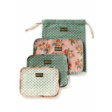 Matilda Jane Get It Together Cubes Set Travel Matches Suitcase New In Bag 4 Pc