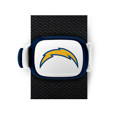 San Diego Chargers Bag Wrap ID Luggage Backpack Bag NFL Blue White STWRAP