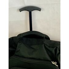 """21"""" Carry-On Suitcase Luggage Wheels Bag Travel Black Retractable Trolley Sturdy"""