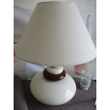 Beautiful table lamp brown and beige 64 cm high by mistrust