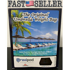 Gravipod The Original Umbrella Weight Bag - Holds up to 110 Pounds (50kg) NEW!