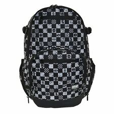 No Fear Unisex Check Backpack Back Pack Zip