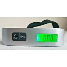 Camry 110 Lbs LCD Digital Scale Handheld Weight Measure & Tare Travel Bag Pocket