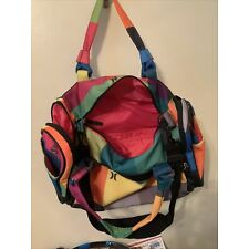Hurley Duffle Bag Multi Color 17 Inches Long X 10 Inches High W/Shoe Pocket