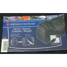 """Backpack Turns Into a Duffel Bag Black 12"""" x 17"""" x 9"""" Northern Traveller"""