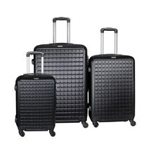 """Suitcase Lightweight Luggage With Spinner Wheels, 3-Piece Set (20""""/24""""/28"""") NEW"""