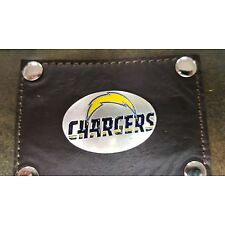 San Diego Chargers 3 Piece Leather Luggage Set- Duffle, Messenger & Travel Kit