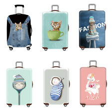 Cat Pattern Luggage Cover Protectors Suitcase Cover (Without Case) 19 to 32 Inch