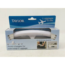 TAYLOR Luggage Scale Clip To Suitcase Up to 110 lb / 50 kg - NEW IN BOX