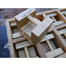 8x TROEMNER 50KG SCALE WEIGHTS or 110. Lbs. each, packed in heavy duty crate!