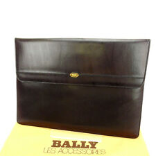 Bally Garment case Brown Woman Authentic Used Y788
