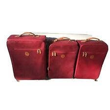 Bric's My Safari Red Wheeled Luggage 2- 22 inch spinners & 1 24 inch spinner