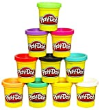 Play-Doh Modeling Compound 10-Pack Case of Colors, Non-Toxic, Assorted, 2 oz. Cans, Ages 2 and up, Multicolor (Amazon Exclusive)