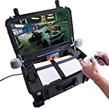 """Case Club Waterproof PlayStation 5 Portable Gaming Station with Built-in 24"""" 1080p Monitor, Cooling Fans, & Speakers. Fits PS5 (Disc or Digital), Controllers, & Games, (PS5 & Accessories NOT Included)"""